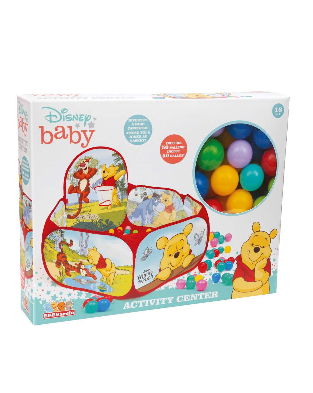 Baby smile - winnie the pooh activity center - Baby Smile