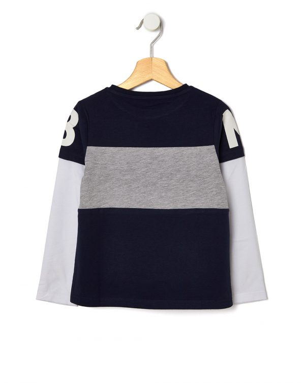 T-shirt manica lunga con stampa rugby - Prenatal 2