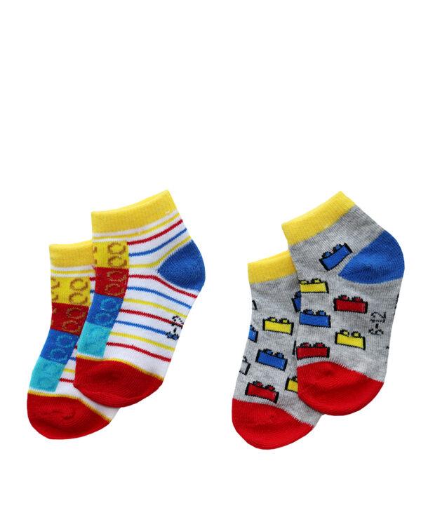 Pack x2 calze corte in cotone Lego - Prenatal 2