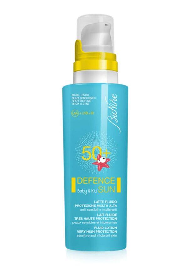 Defence Sun Baby&Kids Latte fluido SPF50+ 125 ml - BioNike