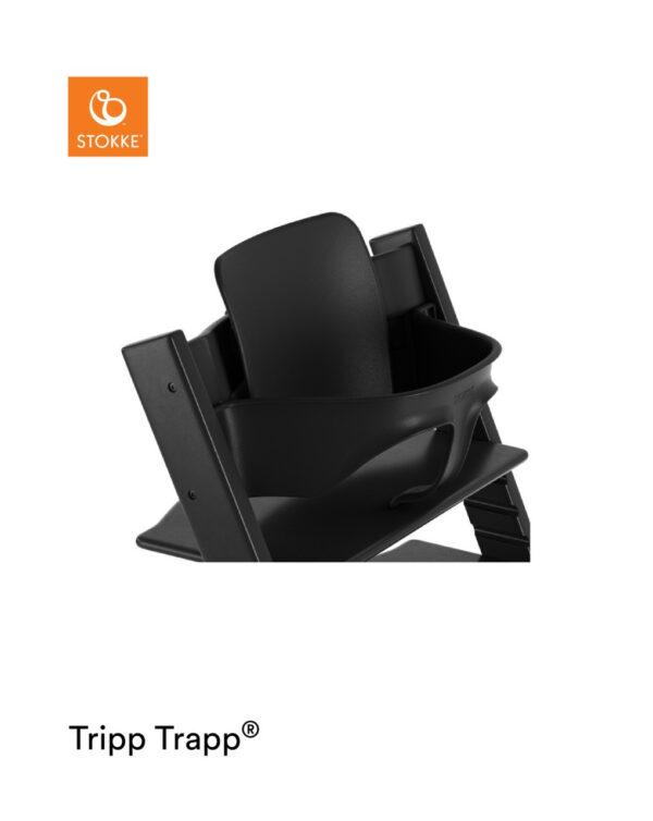 Stokke® Baby Set per Tripp Trapp® – Black - Stokke