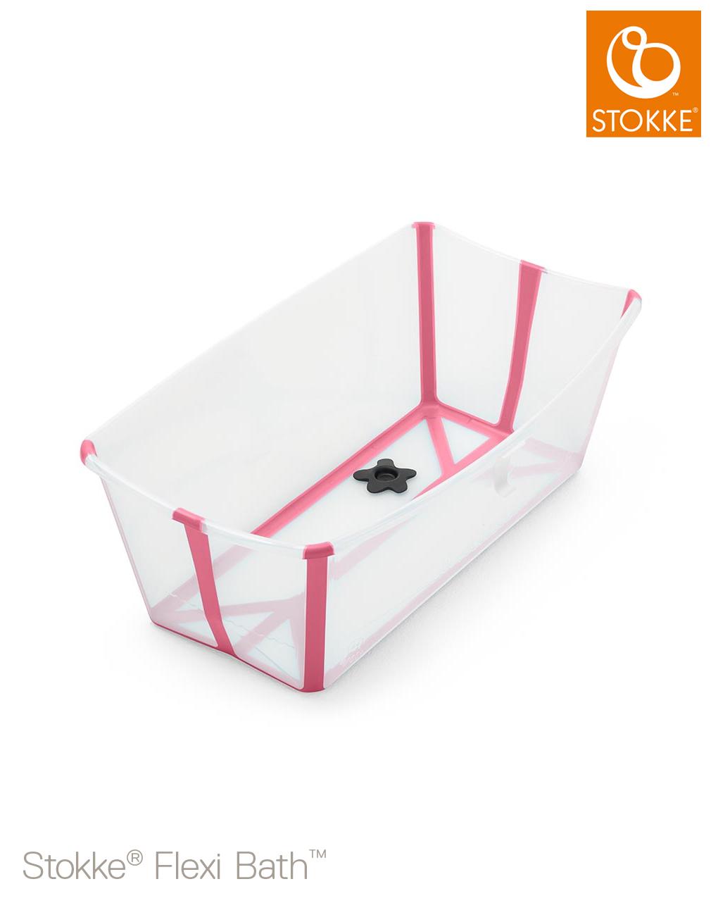 Stokke® flexi bath® - trasparent pink - Stokke