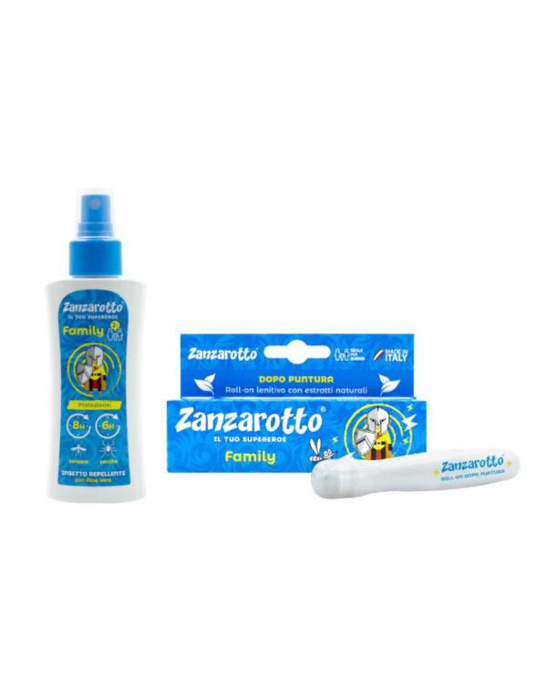 Zanzarotto Lozione 100 ml + Roll-on Lenitivo 15 ml - Zanzarotto
