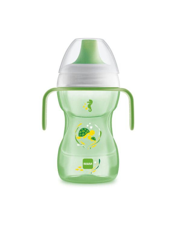 Tazza Fun to Drink 270ml con manici, neutro - Mam