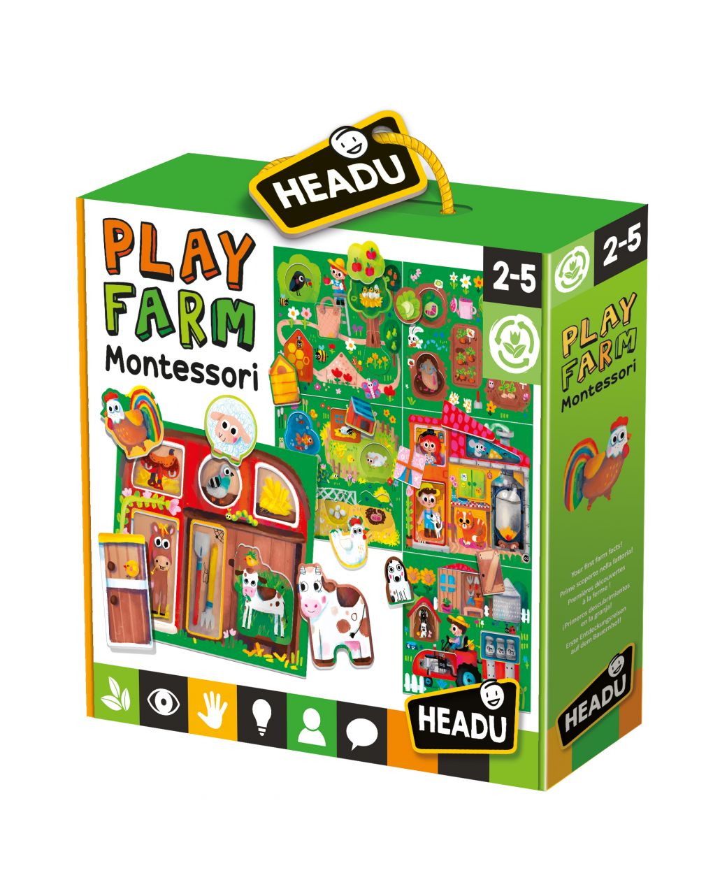 Headu - baby play farm montessori - Headu
