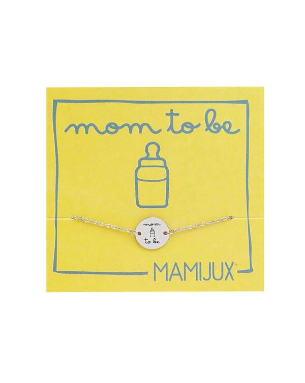 "Bracciale bottoncino ""Mum to Be"" - Mamijux"
