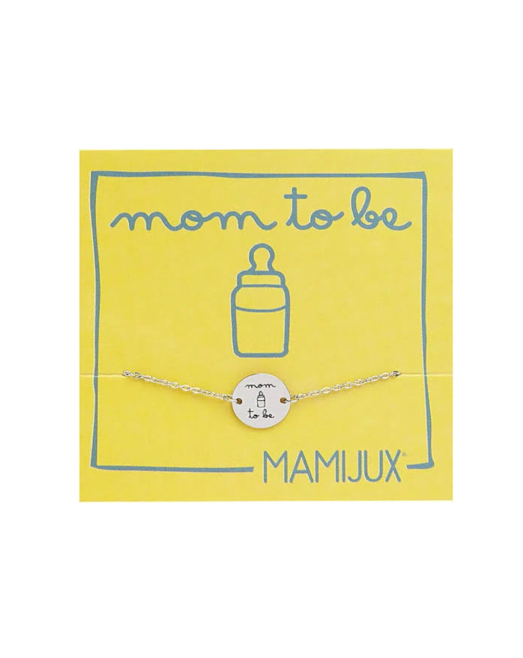 "Bracciale bottoncino ""mum to be"" - Mamijux"