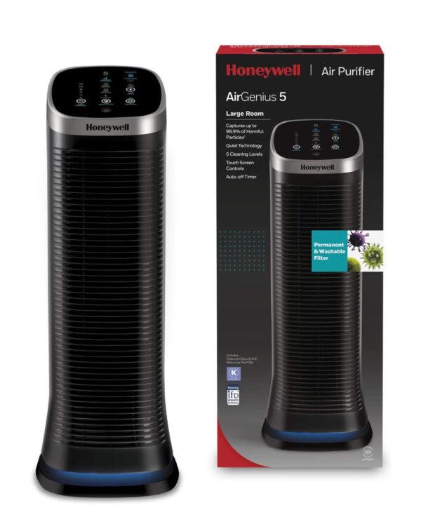 Honeywell Airgenius 5 Purificatore e ionizzatore d'aria - HDF323E - Honeywell