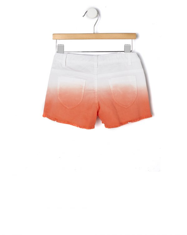 Pantaloncini sfumati arancio - Prenatal 2