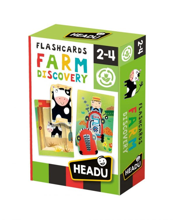HEADU - FLASHCARDS FARM DISCOVER - Headu
