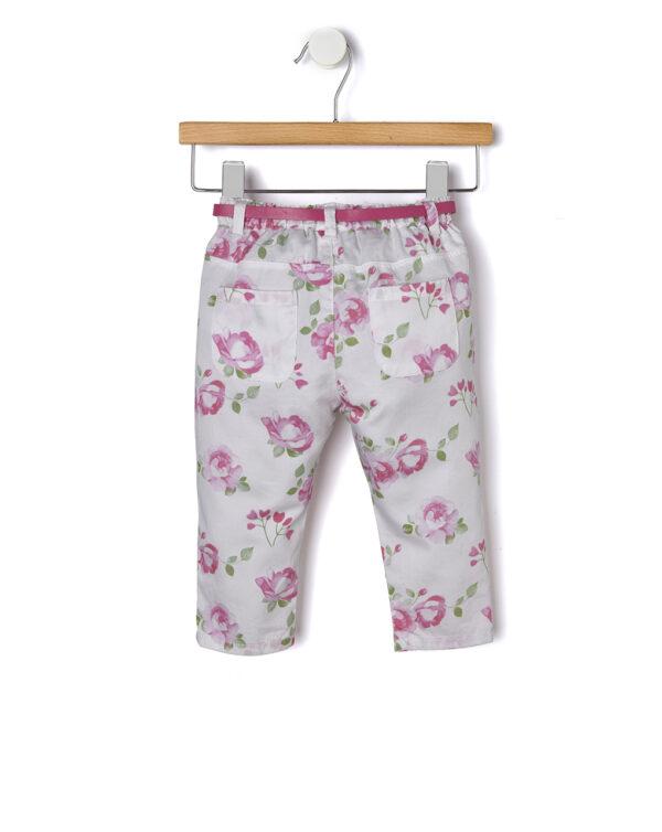 Pantalone popeline con stampa allover - Prenatal 2