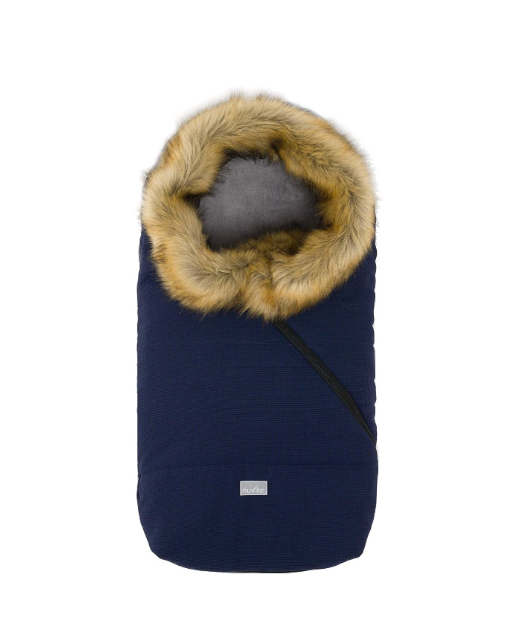 Ovetto pop prince of wales with fur collar - Nuvita