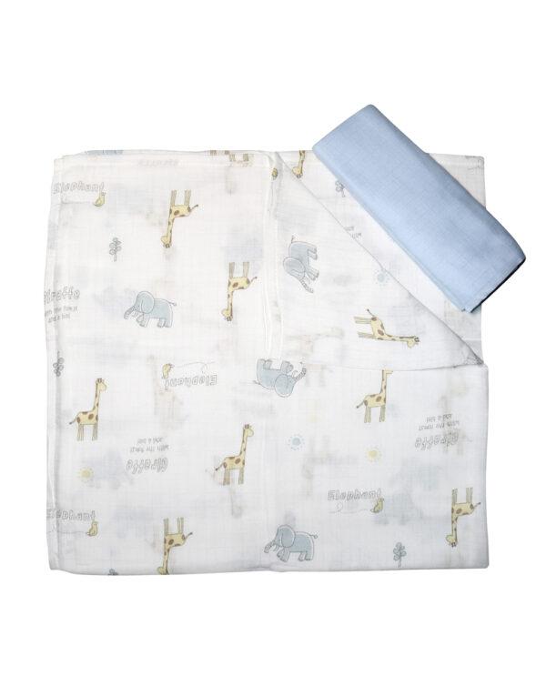 Pack 2 pezzi composto da due foulard - Prénatal