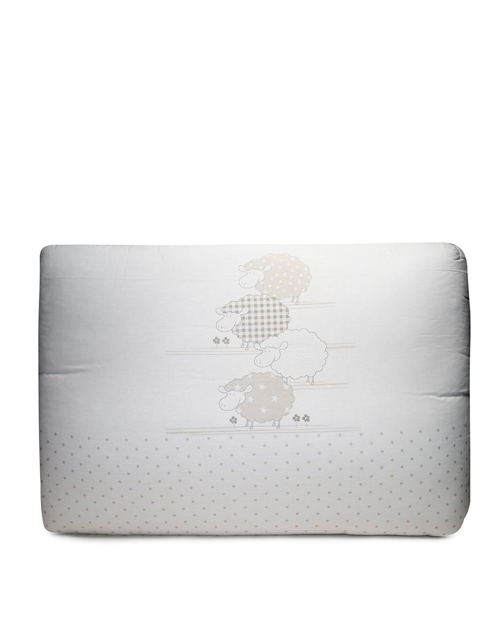 Letto - paracolpi lettino con stampa pecorelle - Prénatal