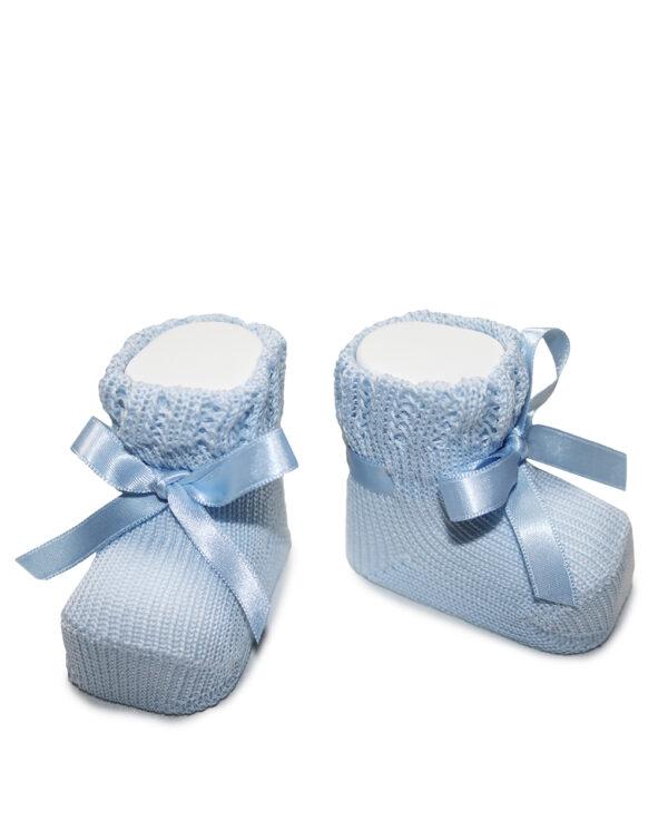 Scarpine neonato azzurre - Prénatal