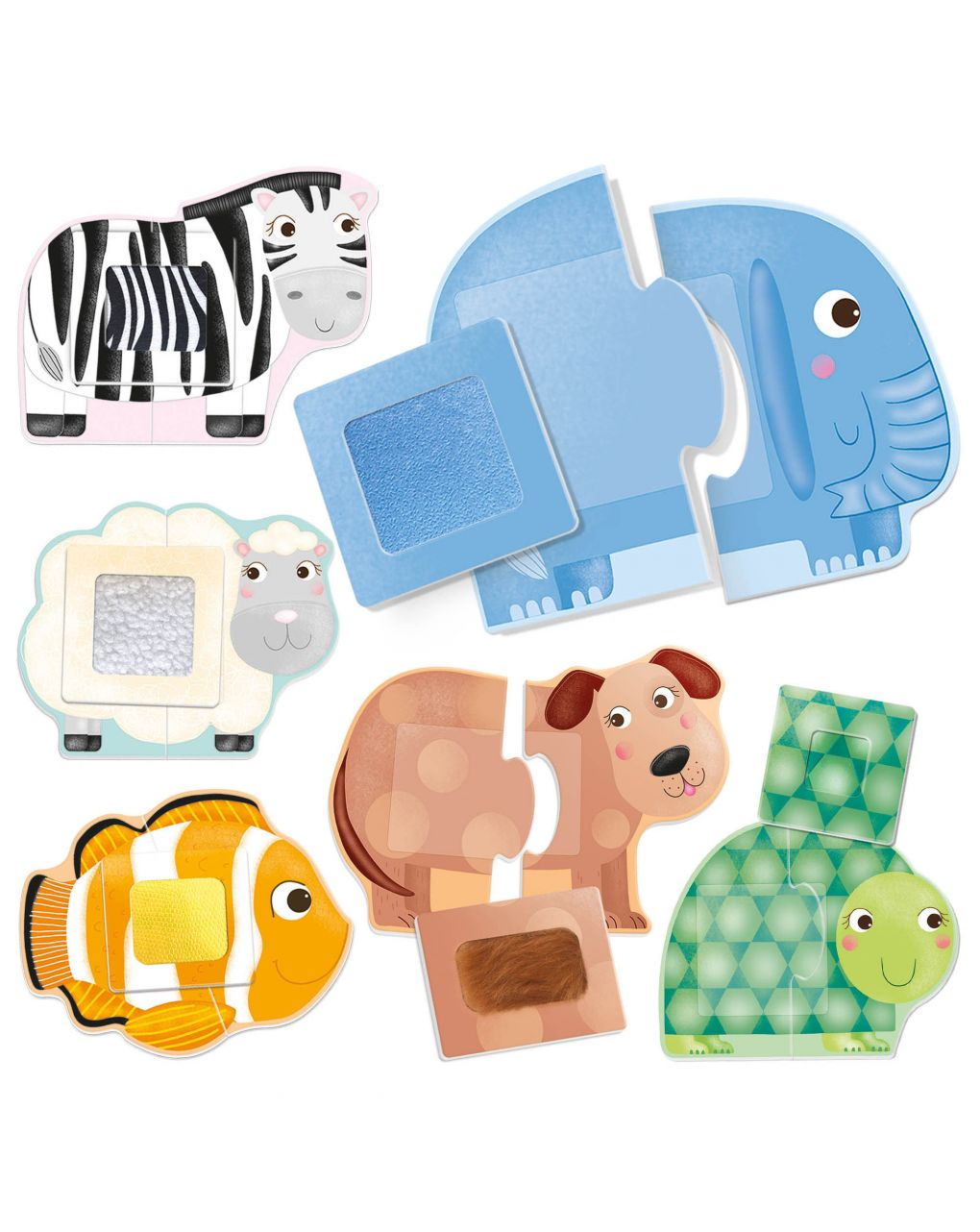 Headu - tactile animals montessori - Headu
