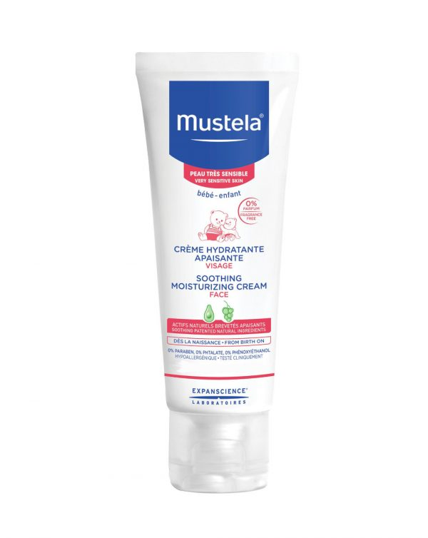 Crema idratante lenitiva viso 40 ml - Mustela