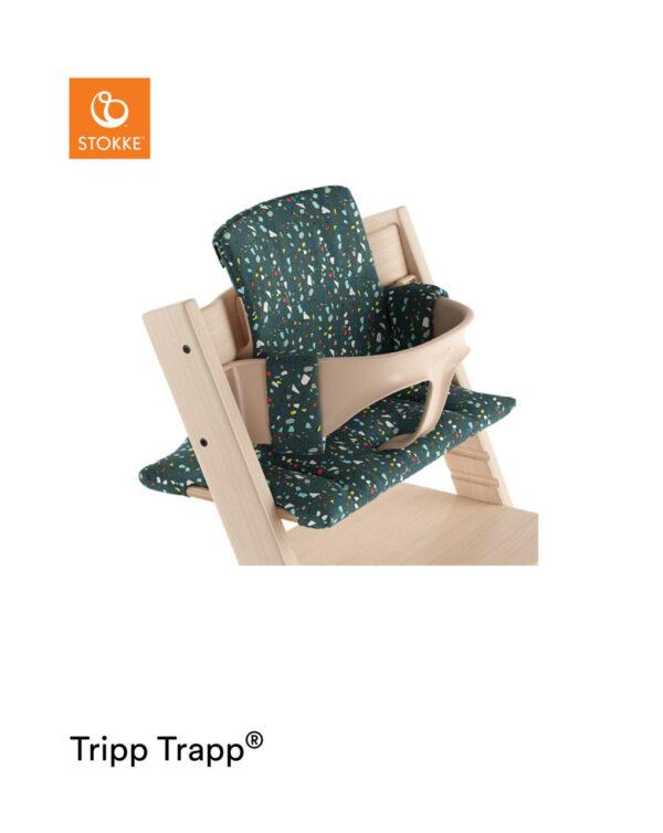 Tripp Trapp® Cuscino – Terazzo Petrol - Stokke