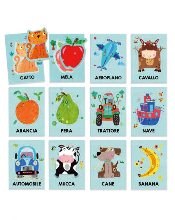 HEADU - BABY FLASHCARDS MONTESSORI - Headu