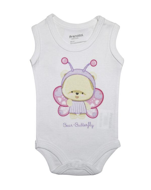 Body canotta con stampa Bear-Butterfly - Prenatal 2