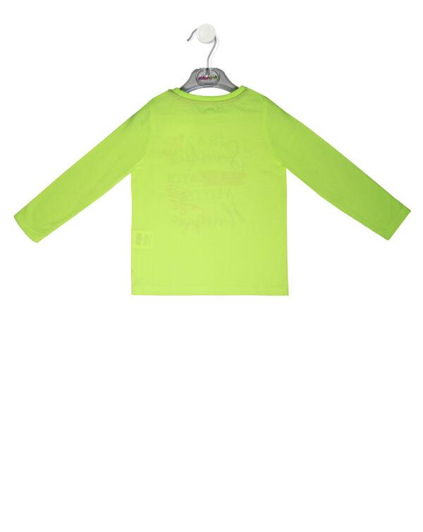 T-shirt manica lunga con stampa glitter - Prénatal