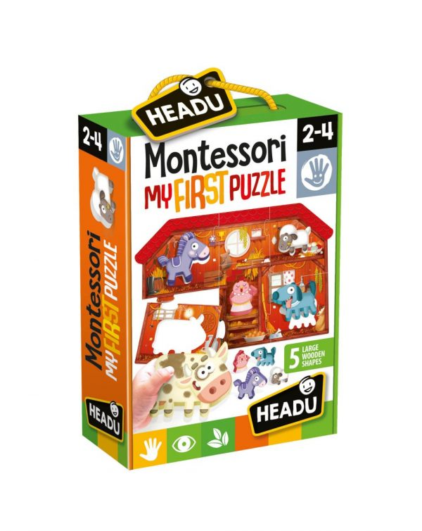 HEADU - MONTESSORI FIRST PUZZLE THE FARM - Headu