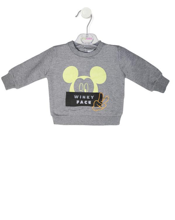 Felpa con stampa Mickey Mouse - Prenatal 2
