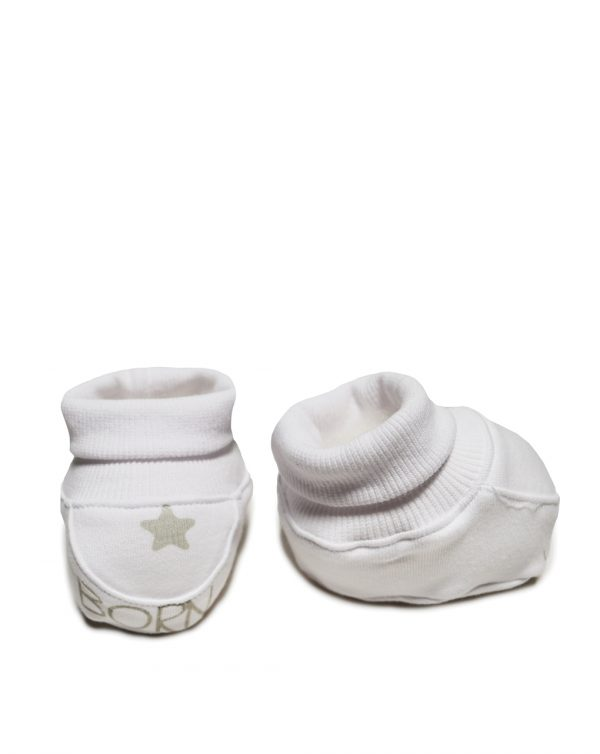 Set 3 pezzi, cappellino, bavaglino e scarpine - Prénatal
