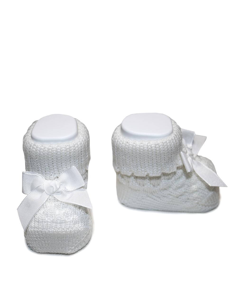 Scarpine neonato bianche - Prénatal