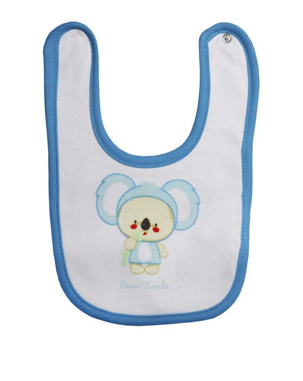 Bavaglino con stampa Bear-Koala - Prénatal