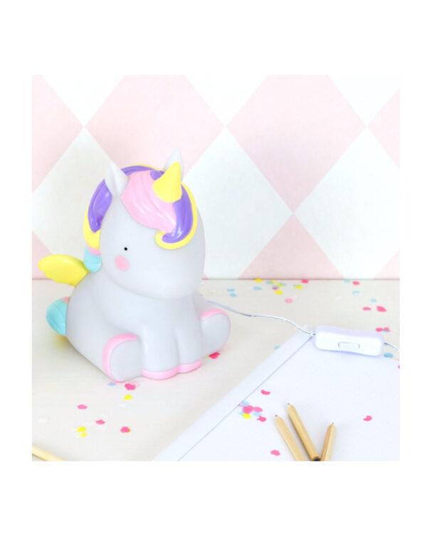 Lampada Table Lights -Unicorno - Little Lovely Company