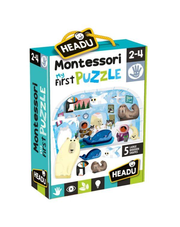 Montessori First Puzzle the Polo - Headu