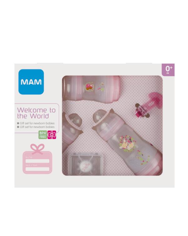 Welcome to the World, confezione regalo, femmina - Mam