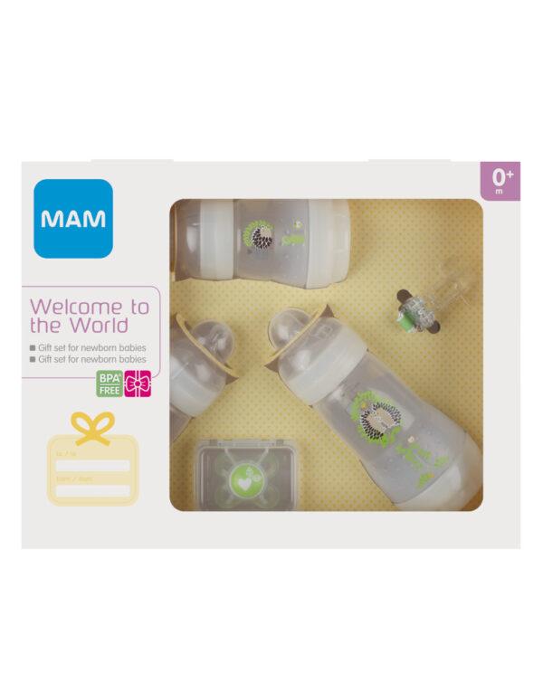 Welcome to the World, confezione regalo, neutro - Mam
