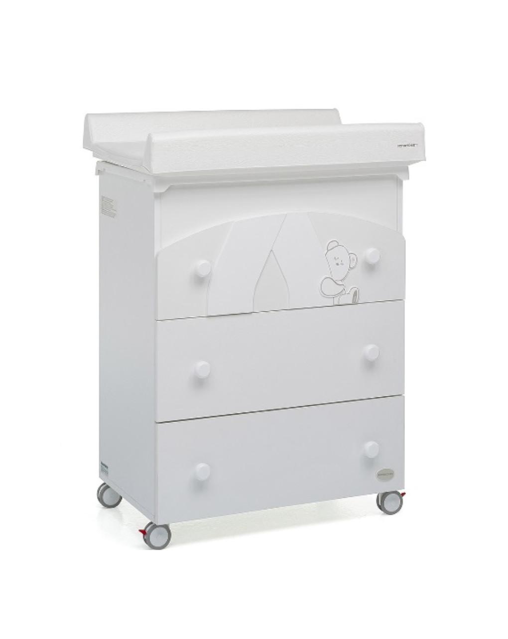 Bagnetto cassettiera giocoso bianco - Foppapedretti