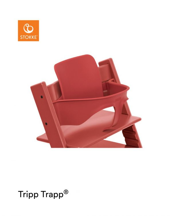 Stokke® Baby Set per Tripp Trapp® – Warm Red - Stokke