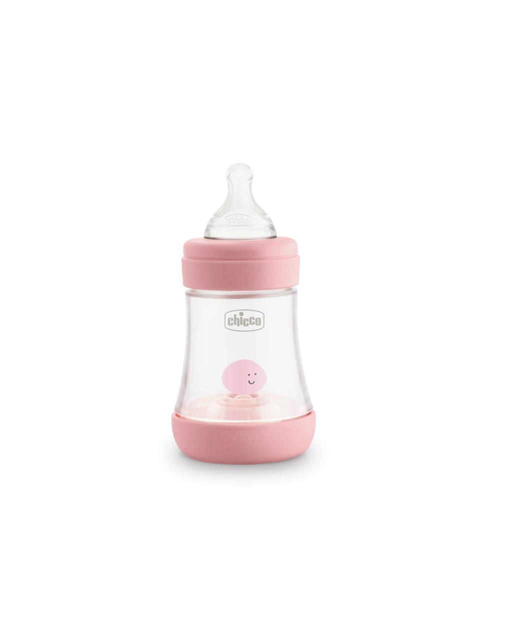 Perfect 5 biberon 150 ml rosa - flusso lento chicco - Chicco