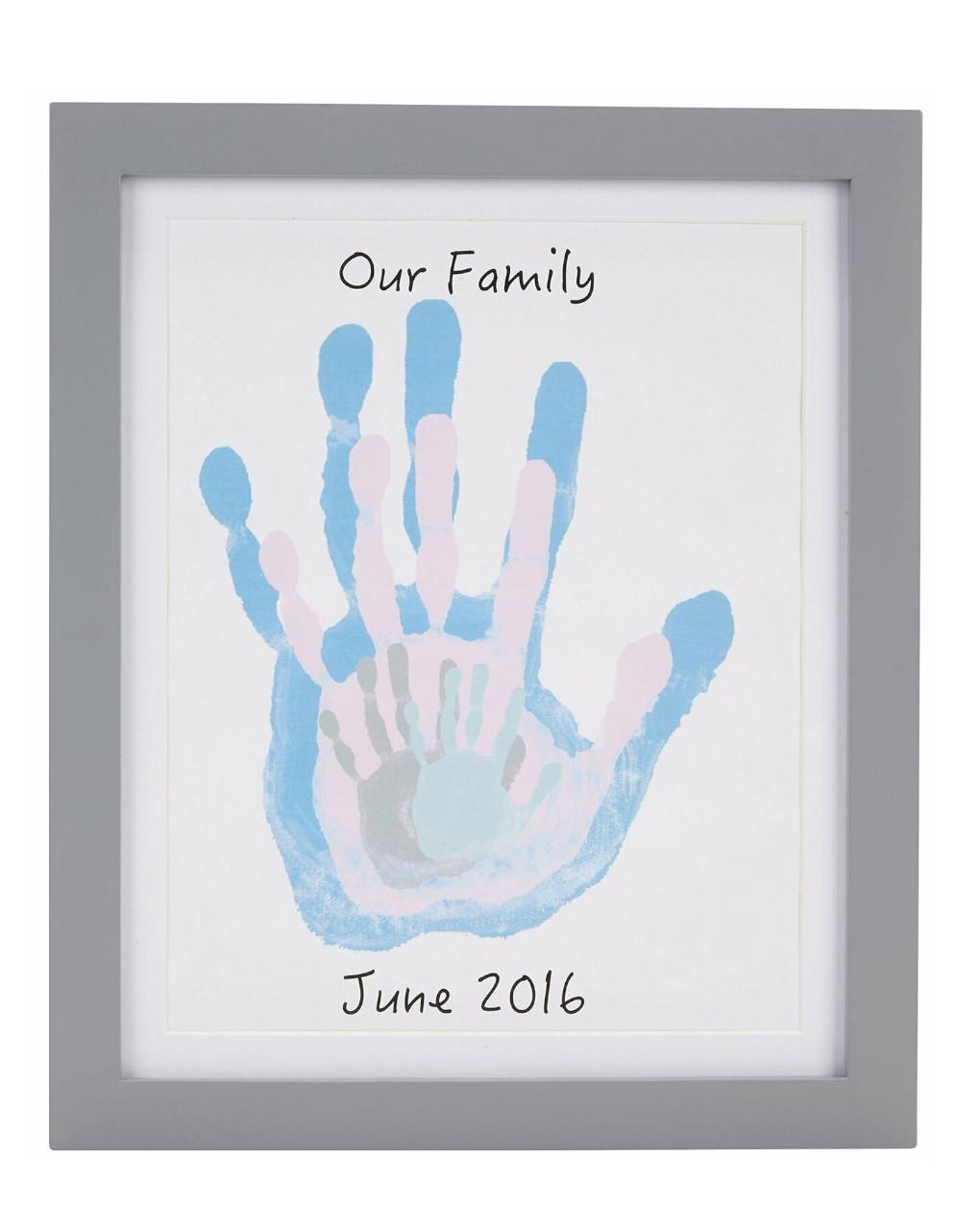 Family handprint frame - Pearhead
