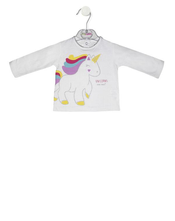 T-shirt manica lunga con stampa unicorno - Prenatal 2