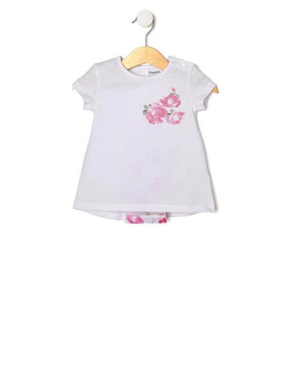 T-shirt mezza manica con stampa glitter - Prenatal 2