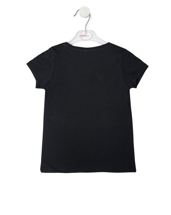 T-shirt mezza manica con stampa LOL - Prénatal