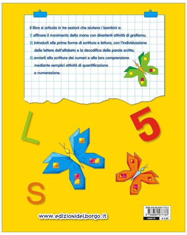 Gioco e imparo con le Lettere e i Numeri - 4/6 anni - Edizioni del Borgo