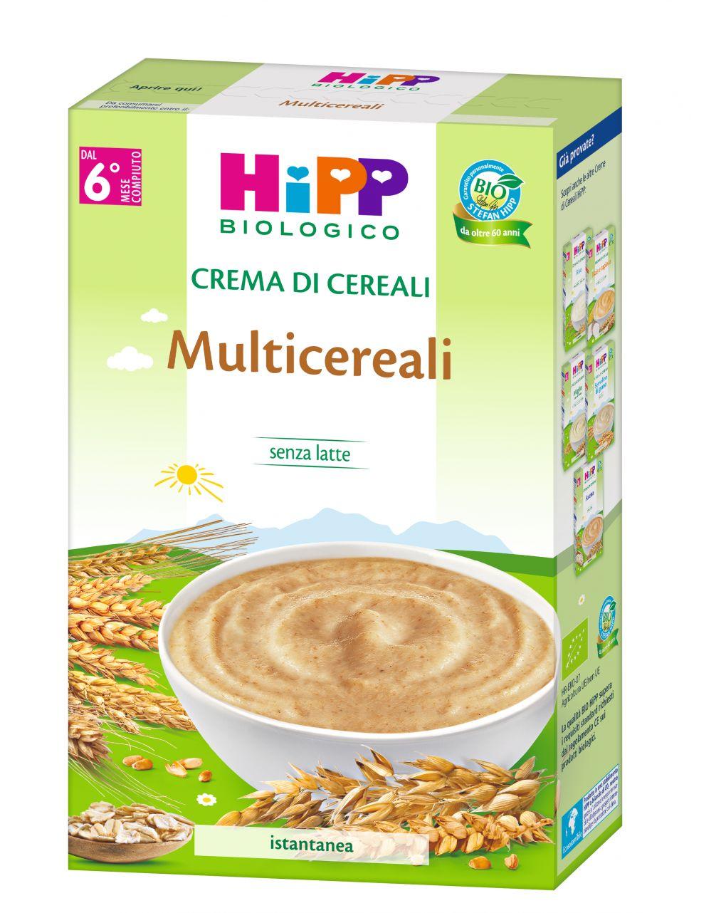 Hipp - crema multicereali 200g - Hipp