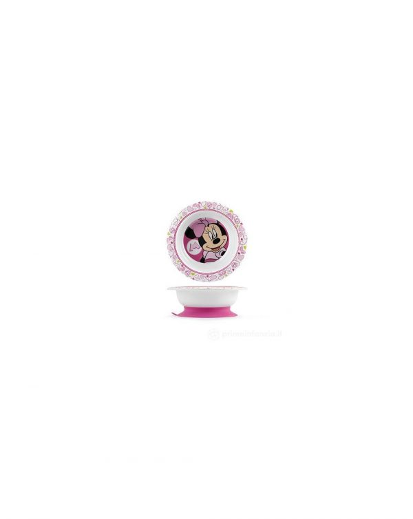 PIATTO MINNIE BASE ANTISCIVOLO DISNEY - Lulabi Disney