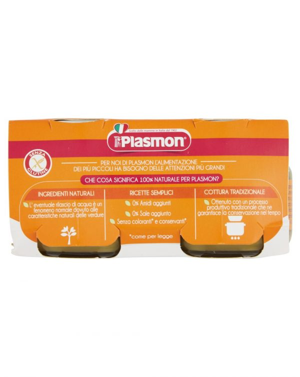 Plasmon - Omogeneizzato verdure miste 4x80g - Plasmon