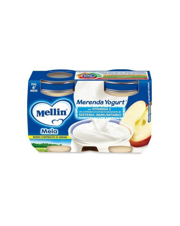 Mellin - Merenda yogurt mela 2x120g - Mellin