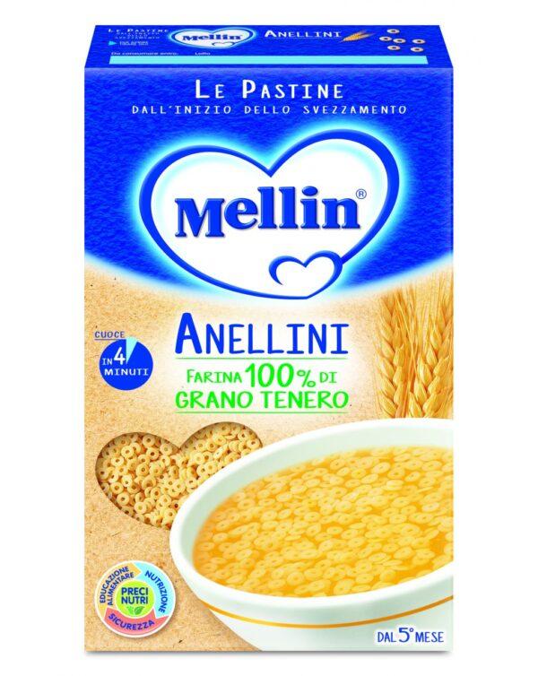 Mellin - Pastina anellini 320g - Mellin