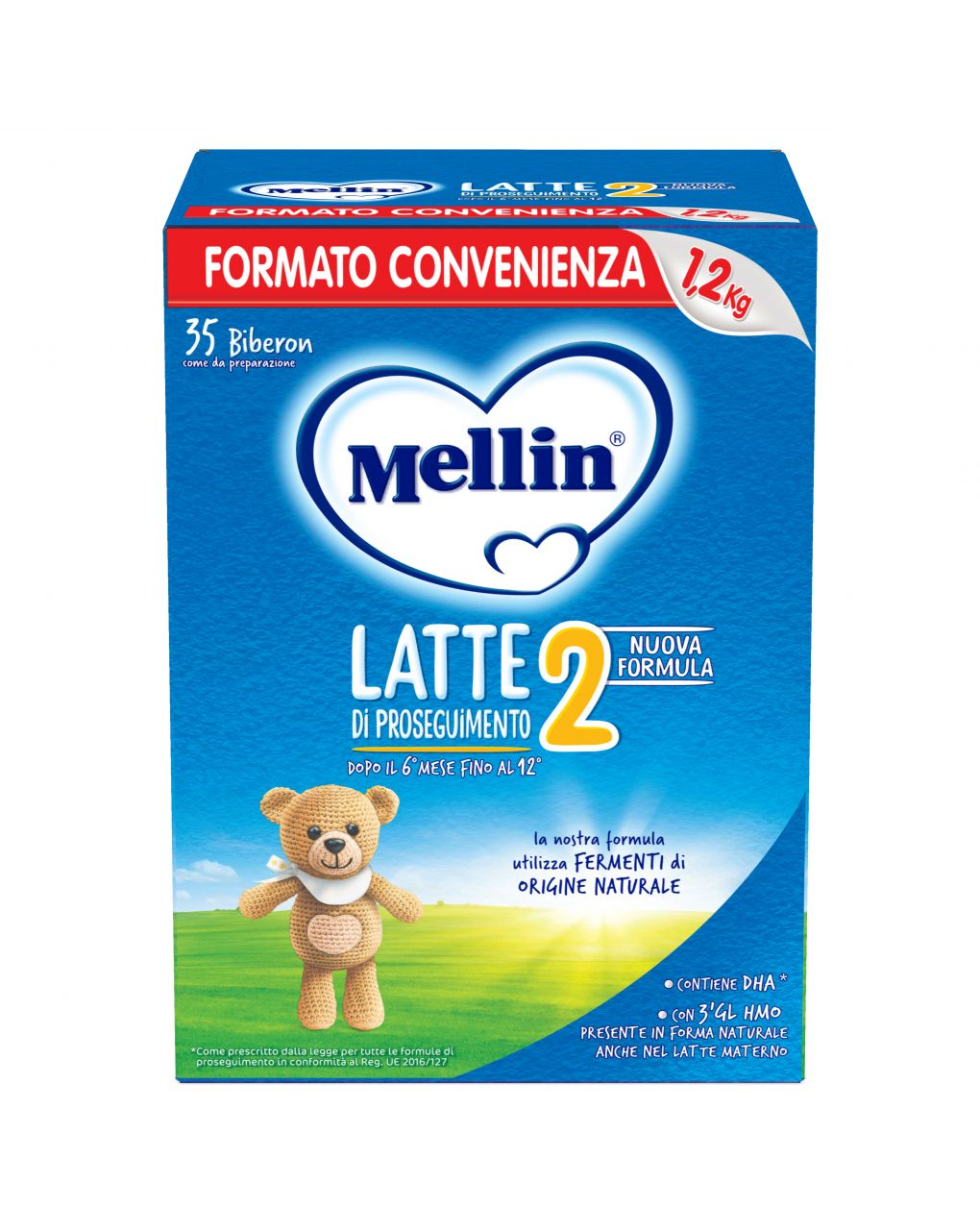 Mellin - latte mellin 2 polvere 1200g - Mellin
