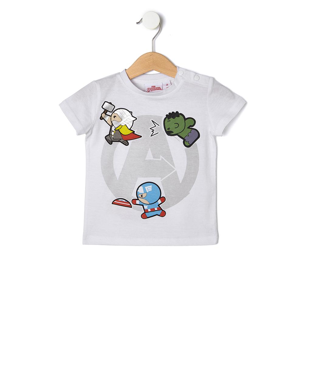 T-shirt baby avengers - Prénatal