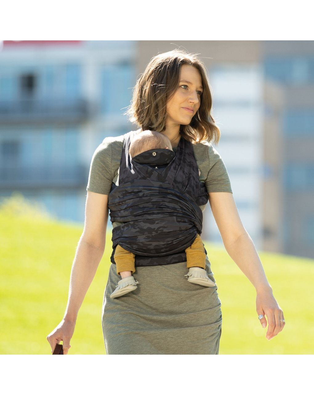 Comfyfit baby carrier camouflage - Boppy